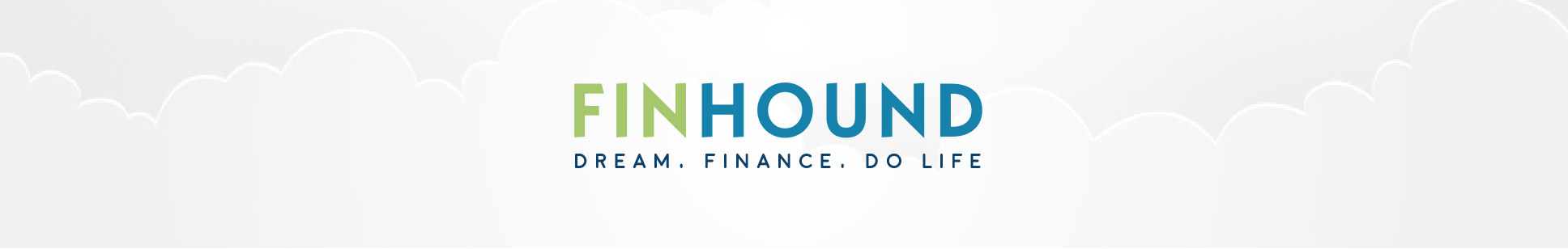 FinHound Logo - Dream, Finance, Do Life | FinHound